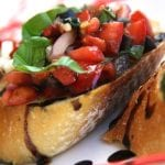 Bruschetta with Balsamic Reduction