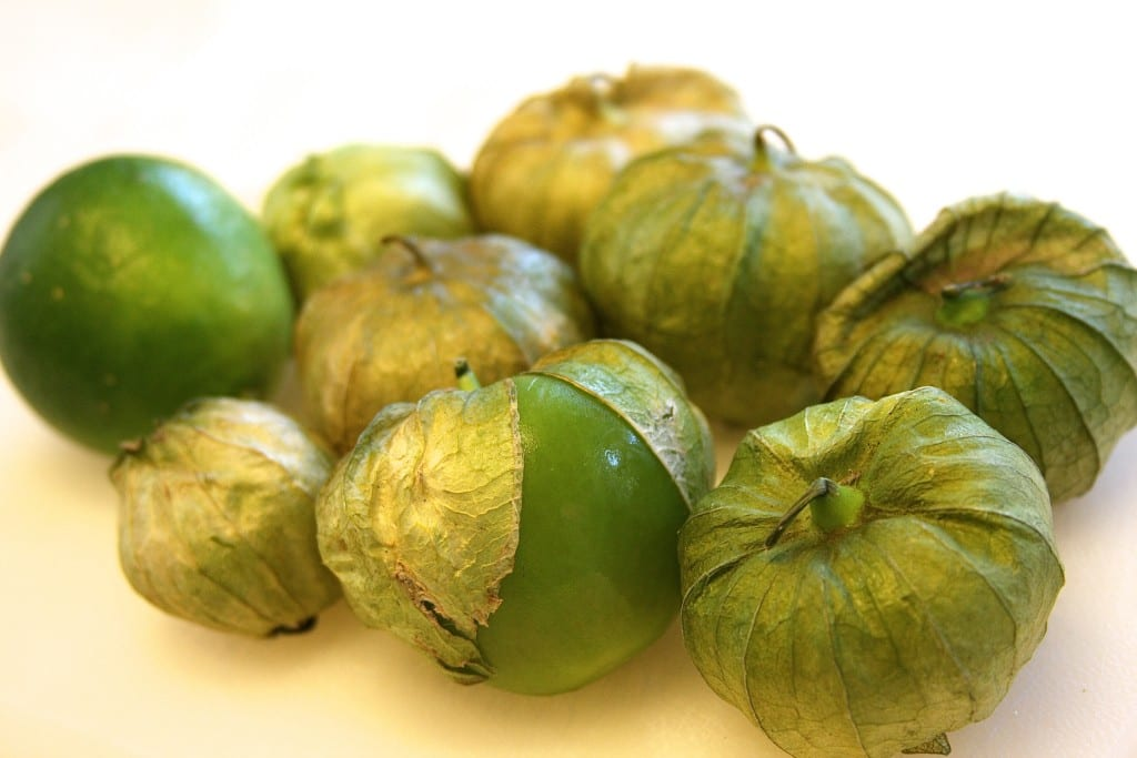 Tomatillos for Crockpot Shredded Chicken Tacos