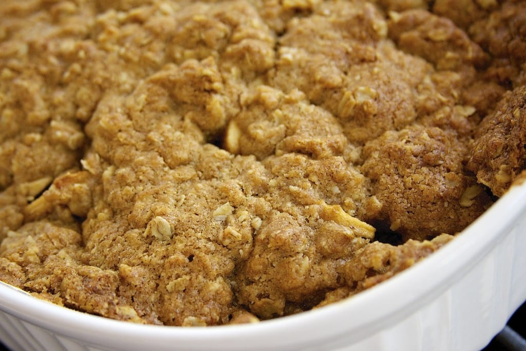 Baked Green Apple Crisp