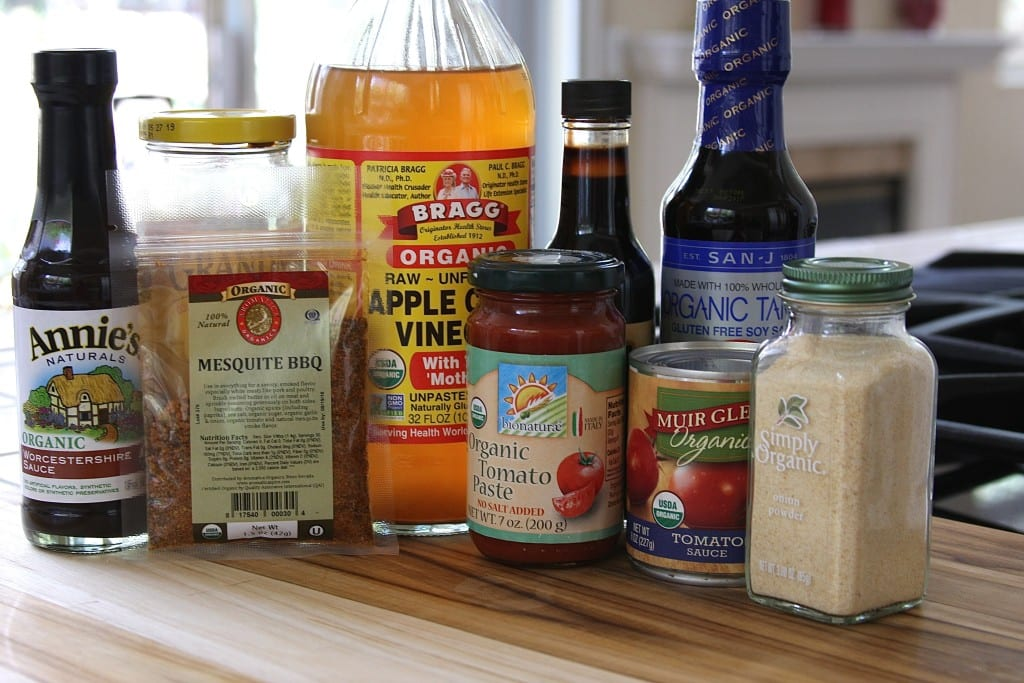 Ingredients for Stick To Your Ribs BBQ Sauce