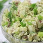 Skinny Red Potato Salad