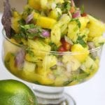 Fresh Mango Pineapple Salsa