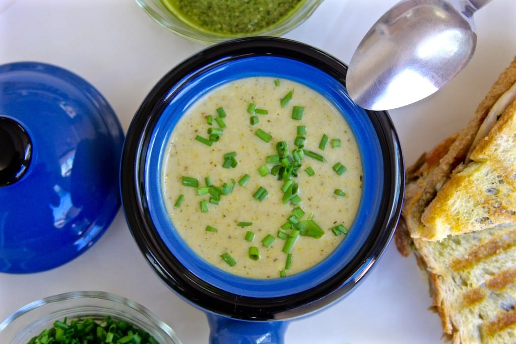 Hearty Crockpot Broccoli Soup 1