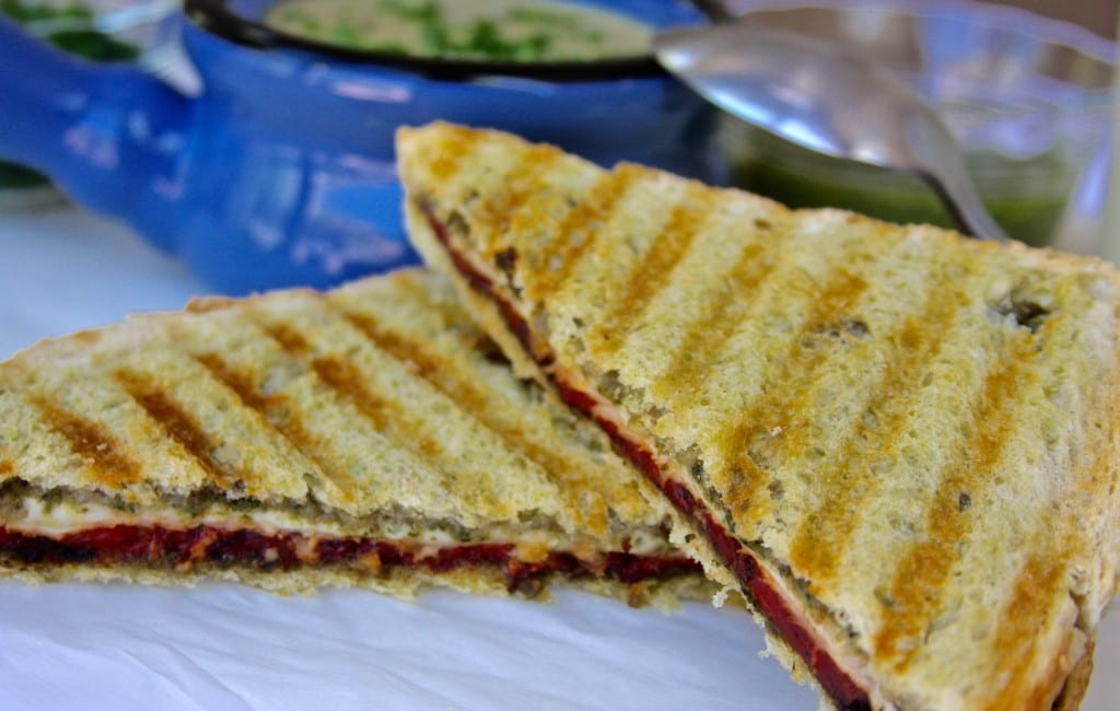Turkey Pesto Panini recipe is the perfect fast and easy comfort food.