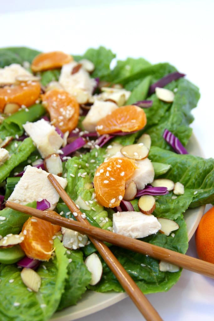 Lazy Day Chinese Chicken Salad recipe is where easy, flavorful and healthy meet. This meal makes my life so much easier on busy days.