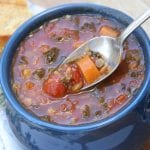 Truffled Lentil Veggie Stew- So healthy and yet tastes so decadent.