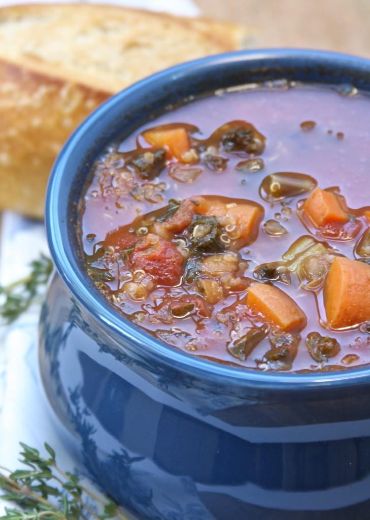 Truffled Lentil Veggie Stew 1- So healthy and yet tastes so decadent.