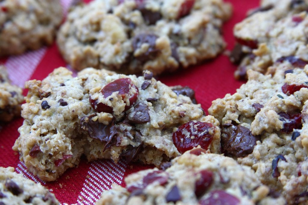 Santa's Wish List Cookies will put a smile on your face while packing in extra nutrition. Oatmeal chocolate chip cookie recipe with cacao nibs and hemp seeds. It is how Santa keeps his energy up.