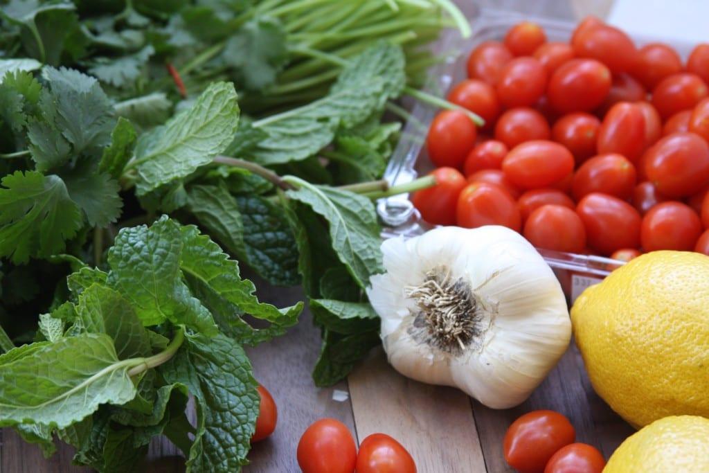 Rocket Your Mind Salad ingredients