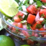Pico De Gallo recipe for Carne Asada fries.