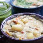 Creamy Gnocchi Mushroom Soup