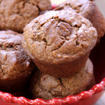 Chocolate Almond Butter Muffins