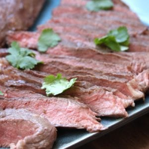 How to Make Grass-Fed Carne Asada gives instructions and recipe for making juicy & tender grass-fed beef .