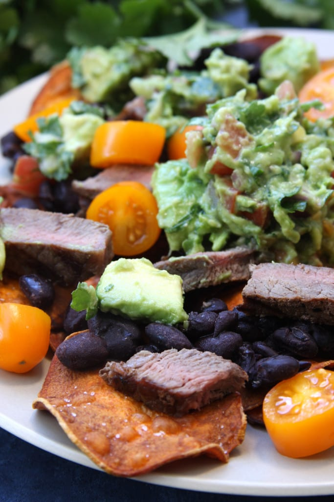 Super Healthy Sweet Potato Nachos was a perfect treat while on the elimination diet. So satisfying and nutritionally dense.