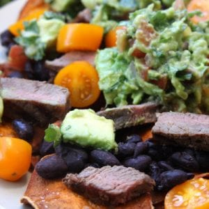 Super Healthy Sweet Potato Nachos