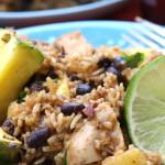 Caribbean Chicken & Rice