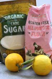 Switching to TJ's Gluten Free All-Purpose Flour makes these Lusciously Lemon Bars gluten free.