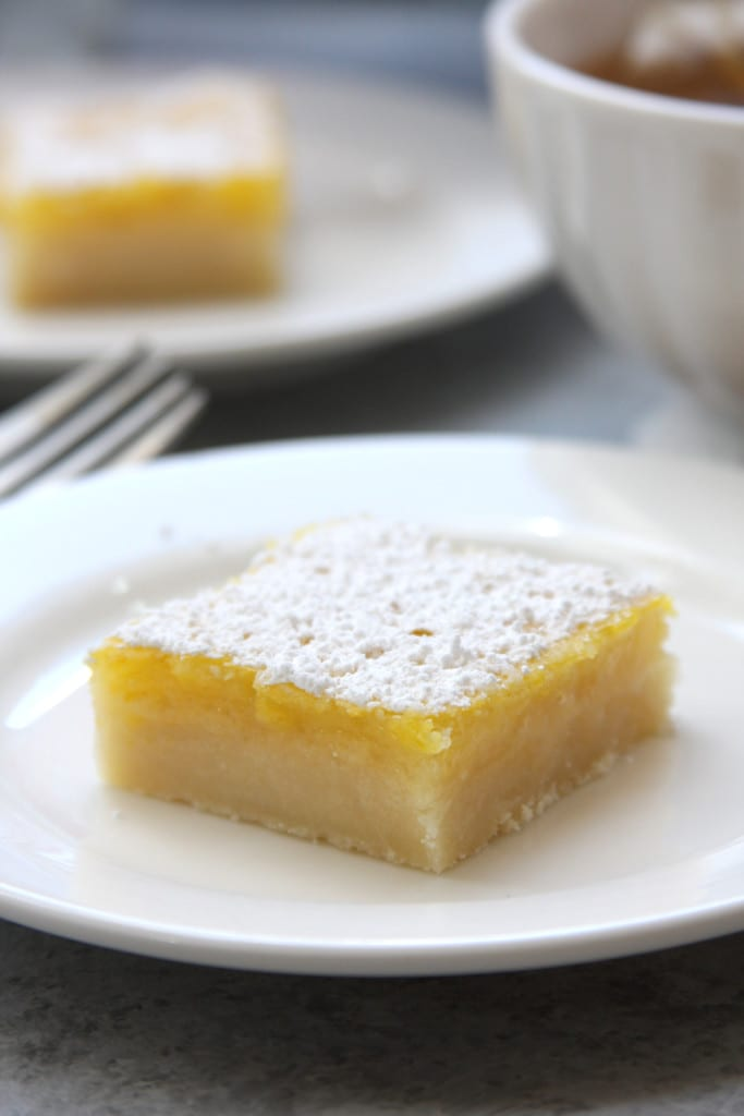 Lusciously Lemon Bars recipe is rich, sweet, buttery and refreshing. Perfect treat for lemon lovers. Gluten free option included.