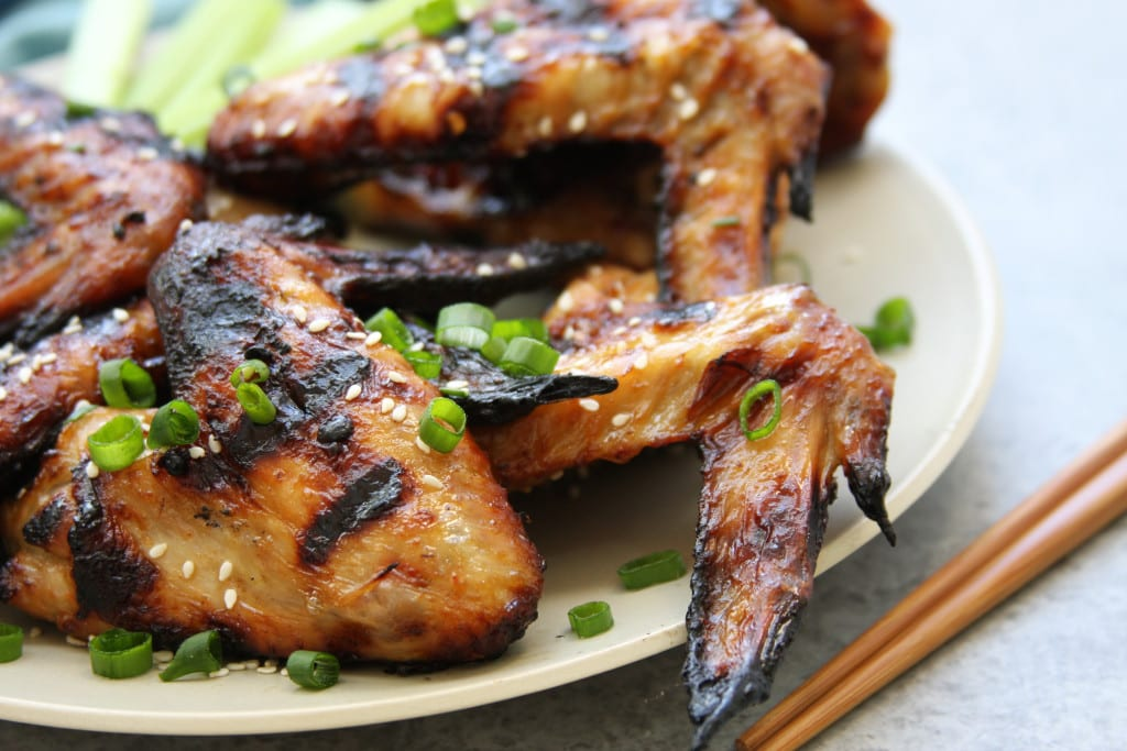 Simple Grilled Asian Wings recipe.