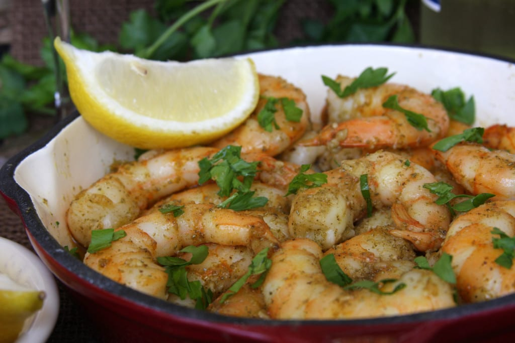 Rosemary Fennel Shrimp recipe has unique and distinctive flavors of aromatic rosemary, slight licorice taste of fennel seed and zesty lemon. Serve as an appetizer for the fennel loving crowd or on top of pasta.