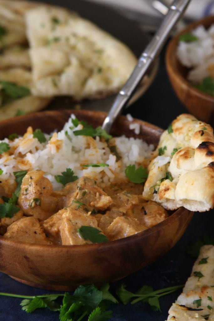 Grilled Chicken Tikka Masala is an easy and incredibly flavorful dish with spiced yogurt, coconut milk and tender chicken. Our family absolutely loves this dish.