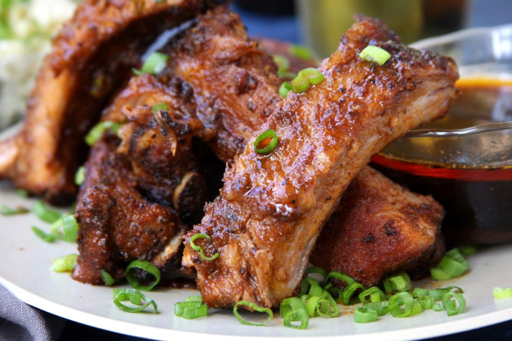 Best Dry Rubbed Ribs using Husband Approved Dry Rub recipe.