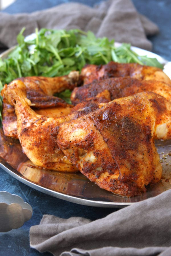 Husband Approved Dry Rubbed Chicken recipe makes incredibly juicy and flavor packed chicken with special preparation techniques. No grill needed to make this luscious chicken.