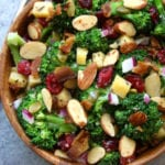 TOP POST-  Super Healthy Broccoli Salad
