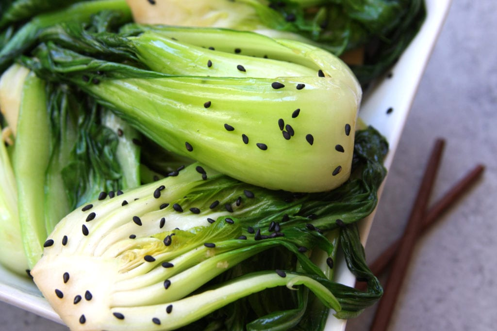 Simple Sesame Bok Choy recipe is a flavorful companion to your evening Asian meal. It is fast, easy and full of nutrition.