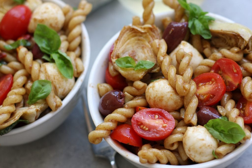 Mediterranean Delight Pasta Salad recipe is an absolute crowd pleaser ...