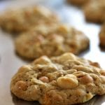 Green Apple Butterscotch Macadamia Nut Cookies