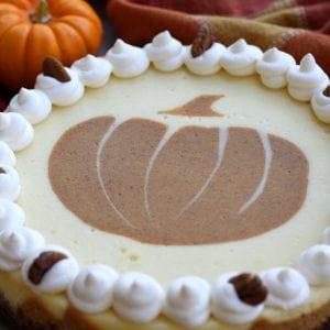 Layered Pumpkin Cheesecake