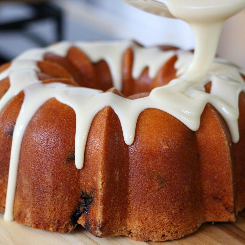 Amaretto Raisin Bundt Cake