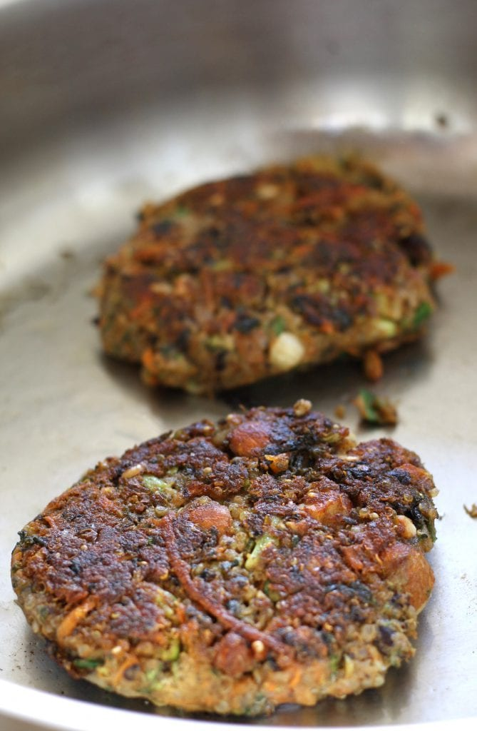 Veggie Fritters With Spicy Mayo Recipe