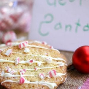 Buttery and minty these Candy Cane Cookies will put an extra twinkle in Santa's eyes and surely make for a magical Christmas Eve.