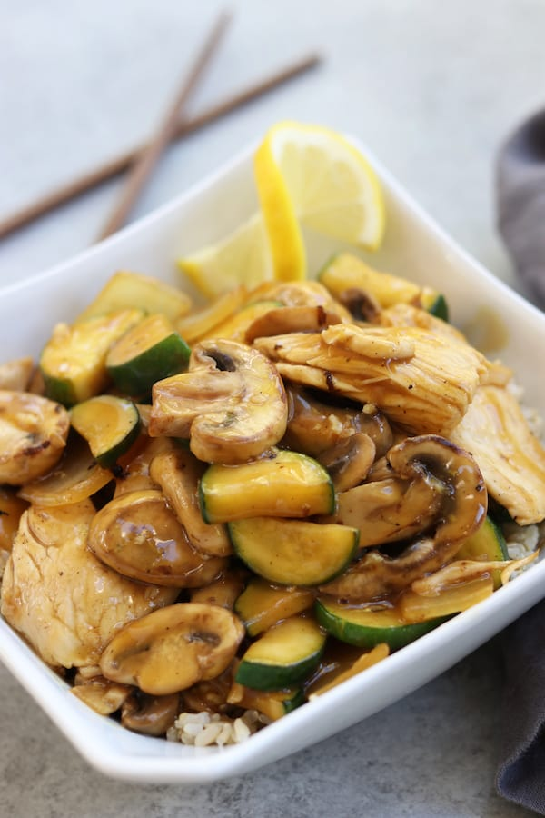 Lemon Chicken Stir Fry The Fed Up Foodie