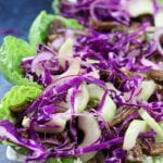 Crockpot Beef Asian Lettuce Wraps