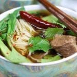 Beef Asian Noodle Soup