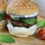 Greek Turkey Burger Sliders