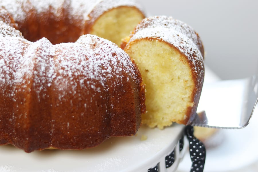 How To Make Mom S Irresistible Lemon Butter Bundt Cake The Fed Up Foodie
