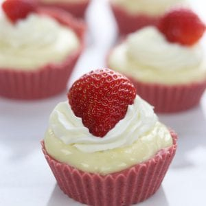 Strawberry Lemon Yum Cups