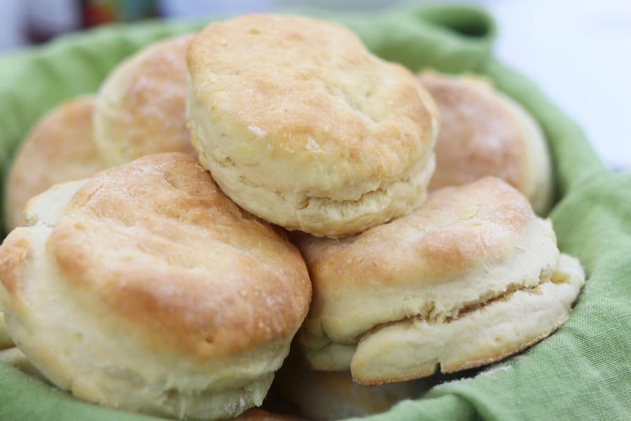 Warm, flaky and with the perfect amount of butter, Best Ever Biscuits are often the star of dinner table. One of my family's favorite treats!