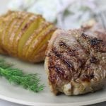 Grilled Rosemary Lamb Chops are tender cuts of meat marinated in rosemary, garlic and olive oil. Serve with your favorite side dishes for a meal scrumptious enough for company but easy enough for a weeknight.