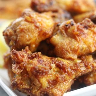 Crispy and baked, these Smokey Lemon Garlic Wings have the subtle flavor of smoked paprika combined with a brightness of lemon and savoriness of garlic. Perfect for game day or a family favorite on movie night!