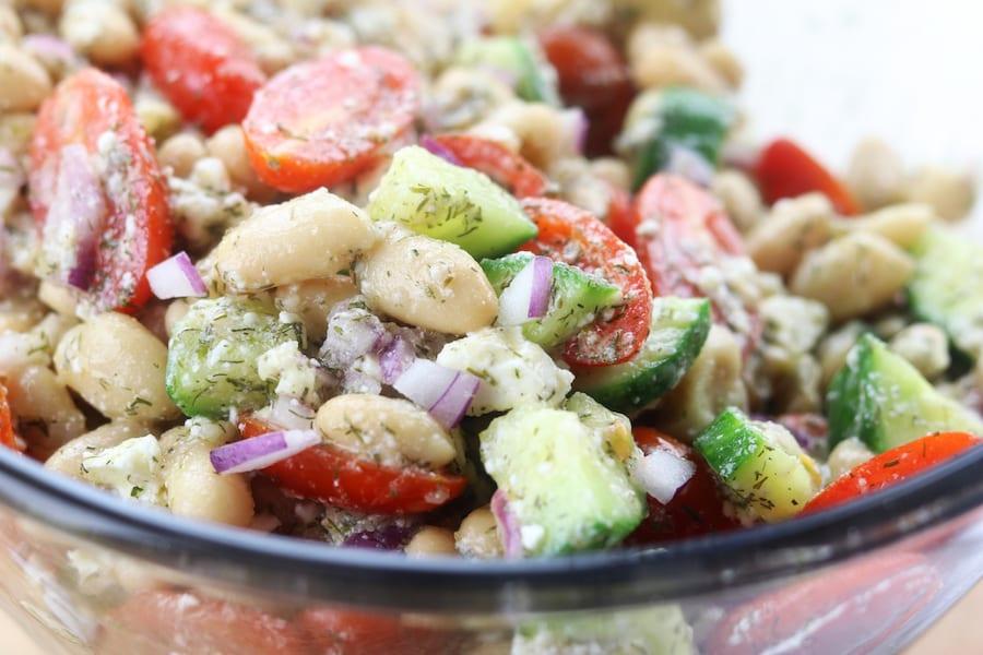 Lemon White Bean Salad