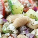 Lemon White Bean Salad