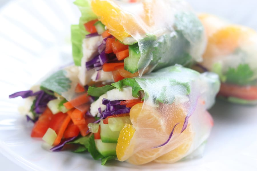 spring roll chicken recipe