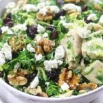 Kale and Brussel Sprouts Salad