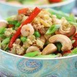 Cauliflower Chicken and Shrimp Fried Rice