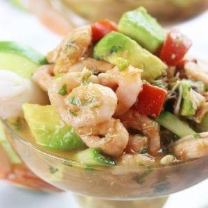 Mexican Shrimp & Crab Cocktail